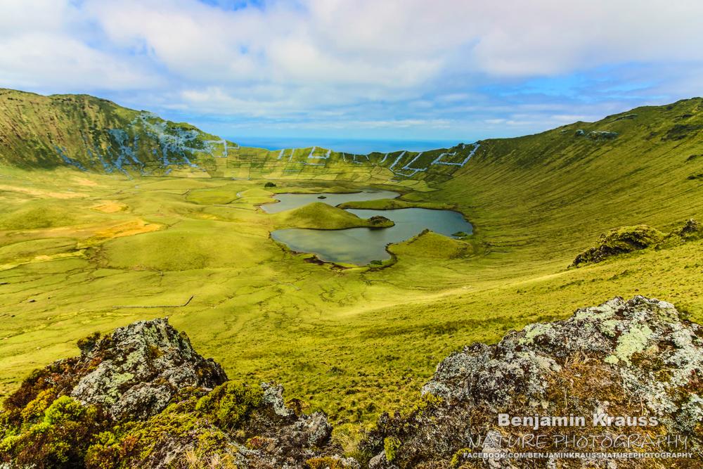 Caldeira do Corvo, Azores, Portugal, Copyright Benjaminkrauss.de