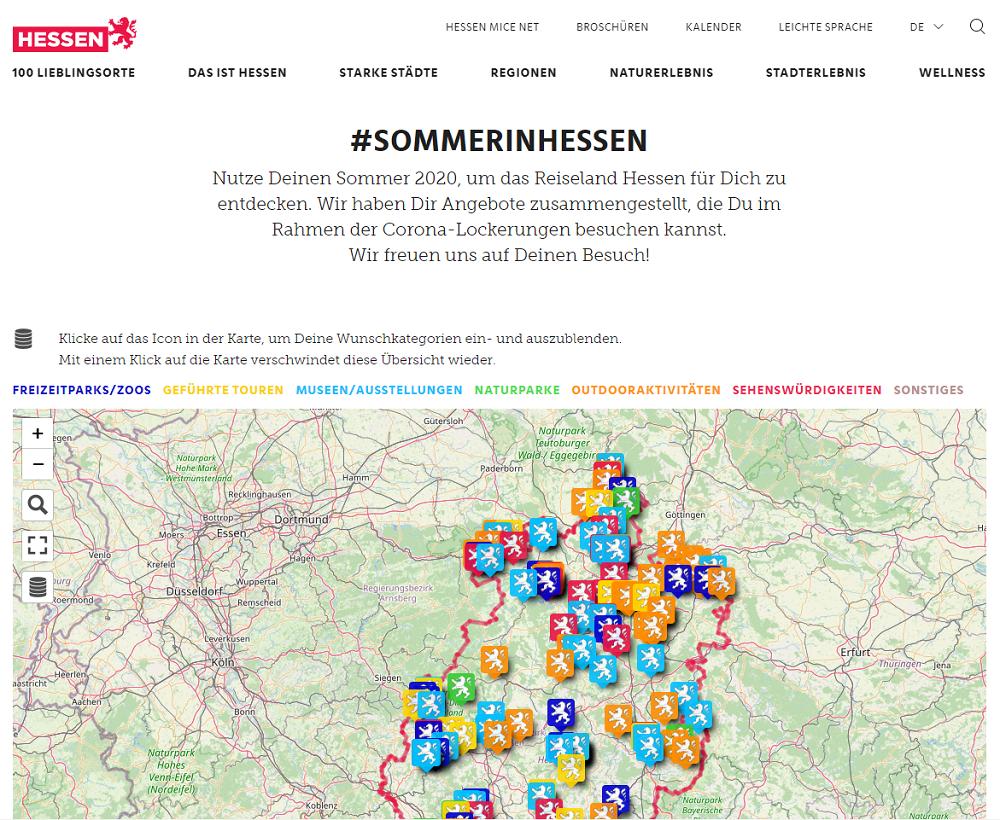 Sommer in Hessen 2020